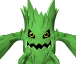 Woodmon (Digimon World 3 Green Variant)