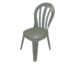 Chair (White Plastic)